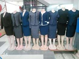 Ladies suits and shoes