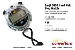 Sanji 5000 Hand Held Stop Watch