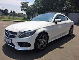 Mercedes C 200 Coupe AMG line