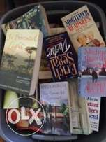 Books, Novels and Non fiction for sale in mint condition