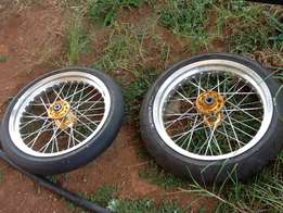 motard wheels for KTM 85