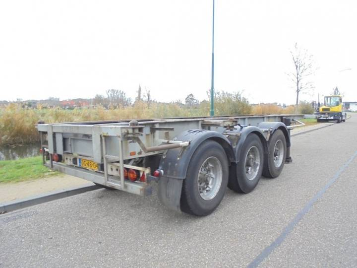 Pacton 3-Axle 20/30 FT Chassis / BPW / NL Trailer - 1986