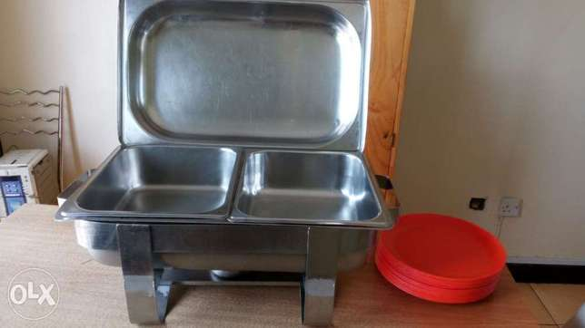 chafing dishes 5,500 Hurlingham - image 1