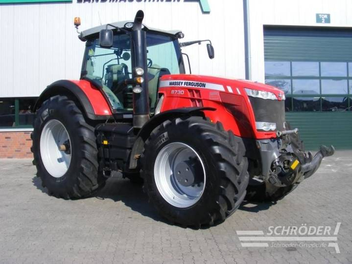 Massey Ferguson 8730 dyna vt exclusive - 2015