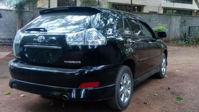 Toyota Harrier 2012 black fully loaded Westlands - image 2