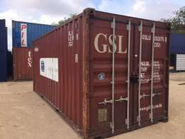 20ft Used Shipping Container -( Wind & Watertight)