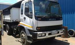 2007 Isuzu 2300GVR Single diff axle with Trailer