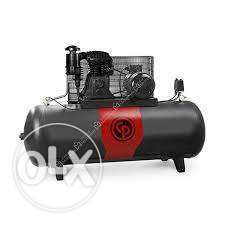 500Ltr 10hp Air Compressors Chicago Pneumatic -Italy