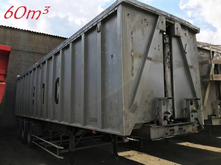 Benalu 60m³ VOLUME KIPPER - *SCHADEN / DAMAGED / ACCIDENTEE * - 1998
