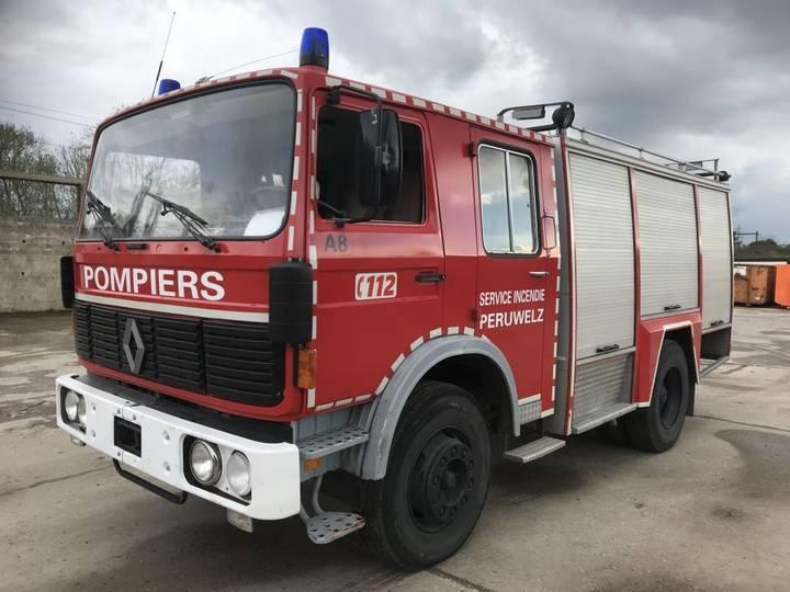 Renault G280 **AUTOPOMPE-6 CYLINDRE** - 1983