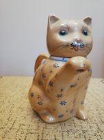 7d0bf1ab2b955 Kolekcjonerski dzbanek porcelanowy-kot