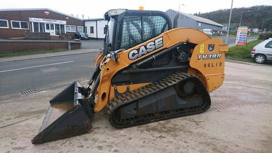 Case Tv380 Tracked Loader - 2014
