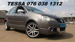 2009 Vw Polo Cross 1.9tdi hatch Great condition Bargain Buy R99900