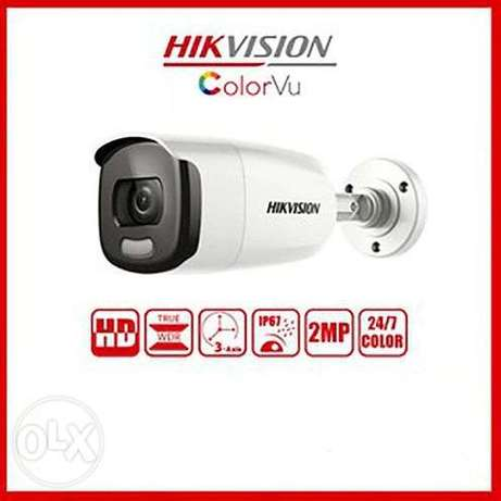 HD1080P Turbo 2 MP Full Time Color Bullet Camera 3.6 MM Fixed lens DS-