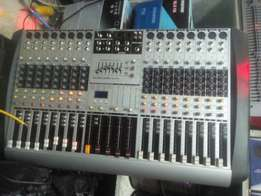 Decibel audio 16 channel mixer.