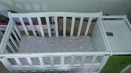 Super Deal!!! Baby coat and mattress for sale