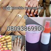 Dark knuckles removal