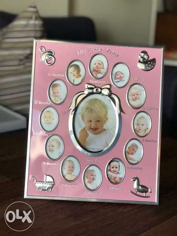 Picture Frame for Baby's 1st year