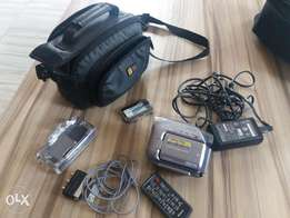 Sony camcoder mini dv and memory card