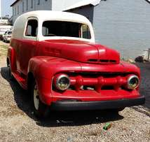 Classic 1952 Ford Panel Van for sale