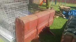 We are selling this Long distance diesel tank