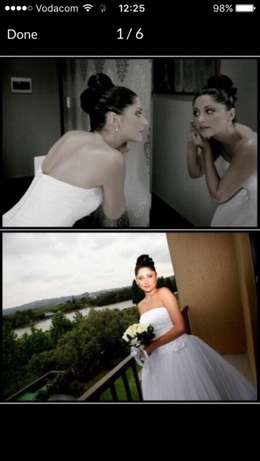 Wedding Dress ball gown with veil , shoes , tiara & ring cushion incl. Edenvale - image 3