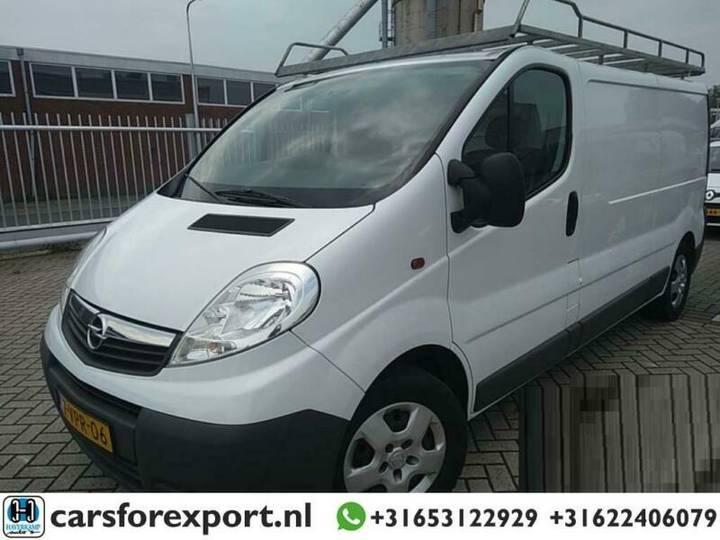 Opel Vivaro 2.0 CDTI L2H1 *AIRCO+CRUISE* Kasten - 2011