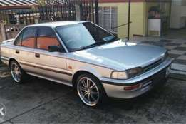Toyota Corolla 160i gl (4AFE) for sale R17,000