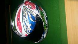 Shark troy corser pro R racing helmet