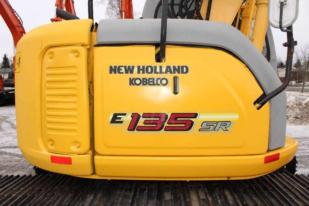 New Holland E 135 Sr / Engcon Ec20/ Myyty - 2008 - image 11