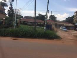Kansanga.comercial 33decimals on the main road for sale at 1billion