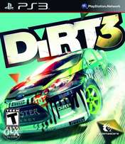 Dirt 3 for PlayStation 3 blue ray disk