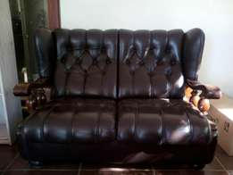 1 & 2 Seater leather couches