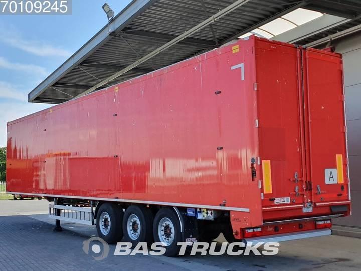 H&W 92m3 Walking Floor Liftachse HWDKSS38 - 2015