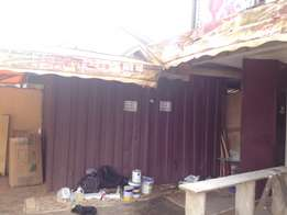 container and tent space for rent