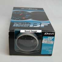Defi Link Advanced BF Auto Turbo Boost Meter Smoke Lens 60mm