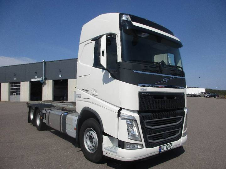 Volvo Fh540 - Containerbil - 2017