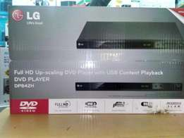 Original LG DVD Player with HDMI Brand New at My Shop