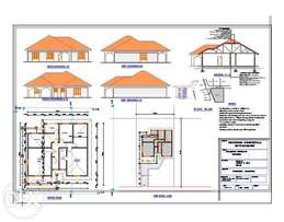 Professional houseplans and blue prints from 15000