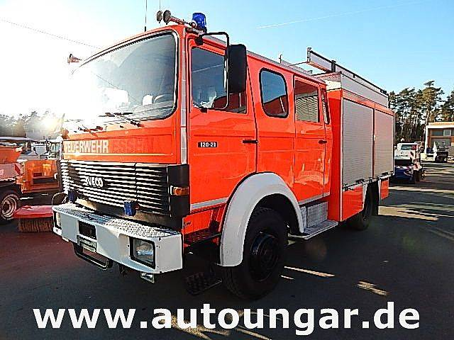 Iveco Magirus 120-23 AW 4x4 1600Liter LF 16/12 Feuerwehr - 1992