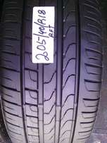 205/40/R18 runflat on special for sale tyre is in a good condition