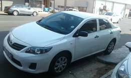 2013 Toyota corolla professional 1.6 in a good condition.