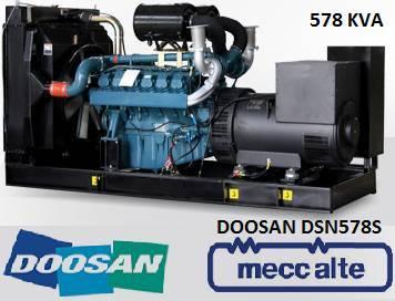 Doosan Dp158ld - 578 Kva - Sns1031 - 2019