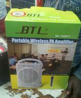 BTL rechargeable amplifier