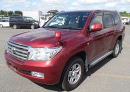 Toyota landcruiser v8 GX, 2011 with sunroof 4WD, finance accepted