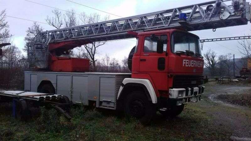 Iveco 256 D 17 Fa Feuerwehrwagen 4x4 - 1984