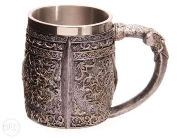Skull stainless steel cup الظهران -  4