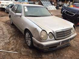 Mercedes Benz E240 W210 now stripping for spares