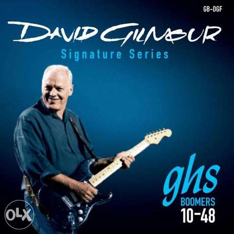GHS Boomers Strings David Gilmour