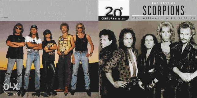 Scorpions 20th century cd original